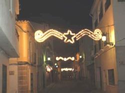 luces de navidad carretera 01