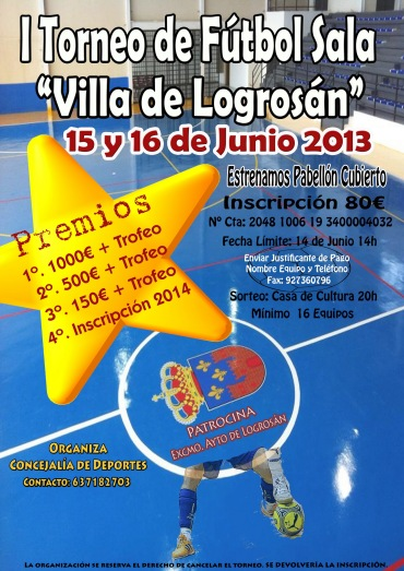 I Torneo futbol Sala 13