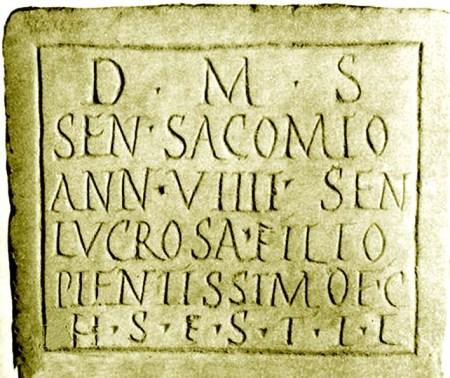 lapida romana de Logrosán