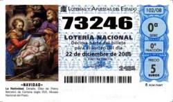 Número vendido en la Administración nº 1 de Logrosán