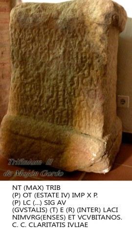 Trifinium 2 con inscripción