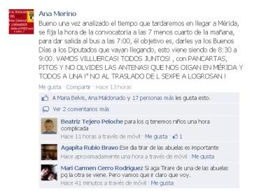 facebook sexpe Cañamero