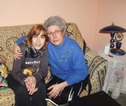 Roser Guevara y su madre , Sara Cadena