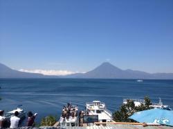Lago Atitlán y Volcán San Pedro (Guatemala)