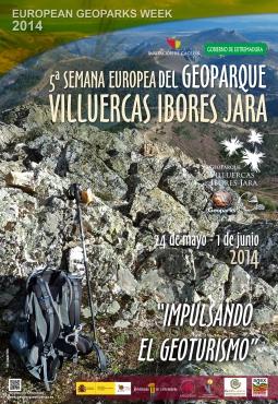cartel 5ª semana geoparque 2014
