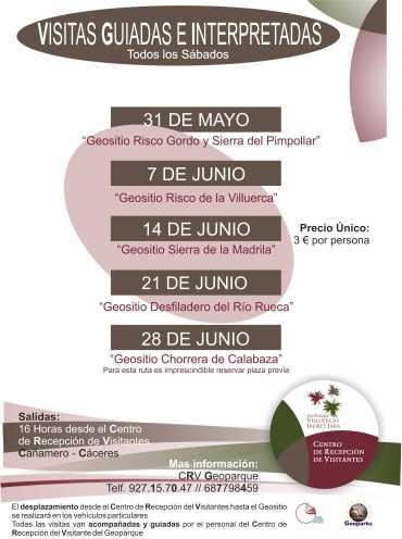 Cartel Programa Visitas CRV Junio'14
