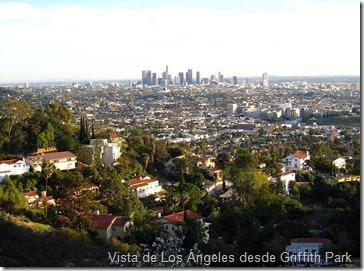 Vista de los Ángeles desde Griffit park