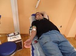 Logrosanos donando sangre