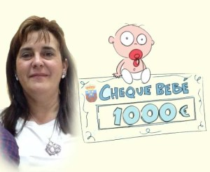 isabel+cheque bebe