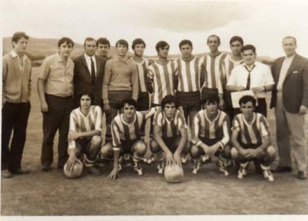 EQUIPO FUTBOL AÑOS 60