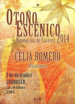 otoño escénico Celia Romero