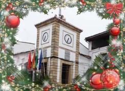 torre ayuntamiento navidad