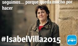 cartel elecciones PP logrosán
