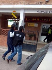 detenidos por la guardia civil