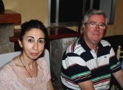 Ángela y JC