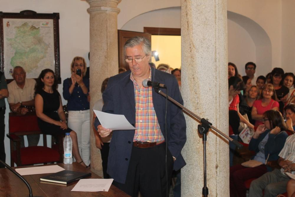 El nuevo alcalde de Logrosán lo será toda la legislatura