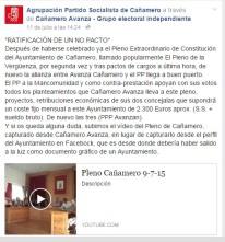 psoe cañamero facebook