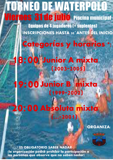 Torneo WATERPOLO