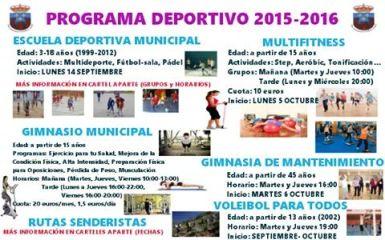 escuela deportiva municipal 2015-16 2