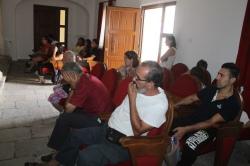 Reunión informativa del alcalde con los afectados