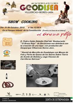 Show Cooking de Pedro Galán Rebollo