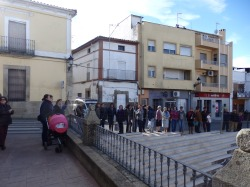 concentración de hoy en la plaza