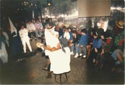 La Píndaro fue la cuna del carnaval logrosano en los años 80