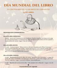 Cartel Día Mundial del Libro 16