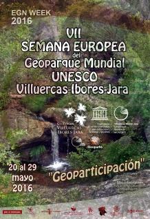 cartel 7 semana geoparque