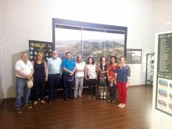 Visita Delegación Geoparque nicaragua