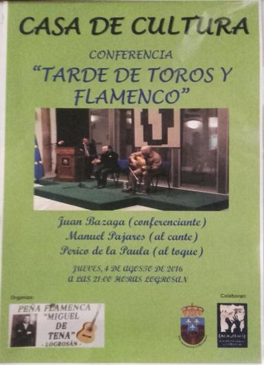 tarde toros y flamenco