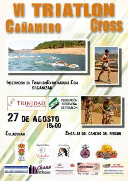 VI triatlon cañamero