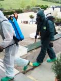 Brigada militar fumigando coronavirus (18)