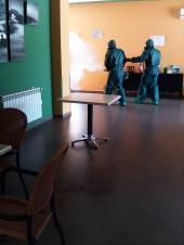 Brigada militar fumigando coronavirus (22)