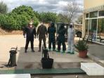 Brigada militar fumigando coronavirus (23)