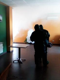 Brigada militar fumigando coronavirus (26)