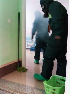 Brigada militar fumigando coronavirus (27)