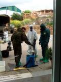 Brigada militar fumigando coronavirus (3)